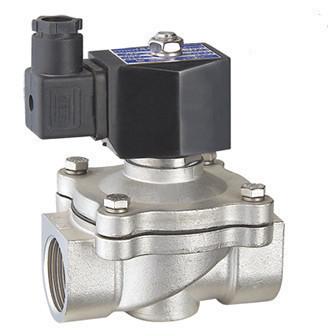 """Клапан електромагнітний нормально-закритий Round Star RSP-50J 1,2"""" непрямої дії з нержавіючої сталі 316L"""