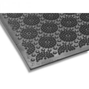 Придверний гумовий килимок Квітка YPR ДО-17 36.5х58см