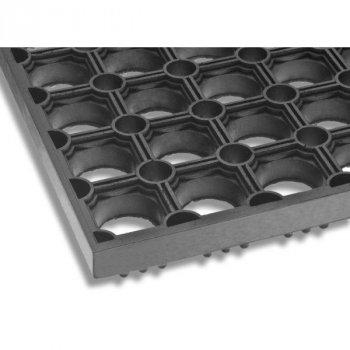 Придверний гумовий килимок Стільники YPR К24-М 40х60см