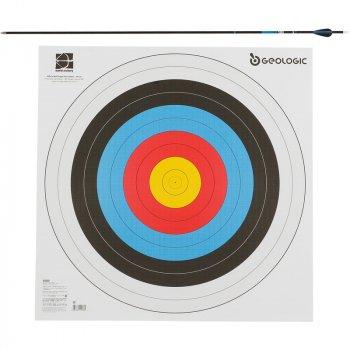 Мішень 5 Для Стрільби З Лука 60X60 (DE8542784)
