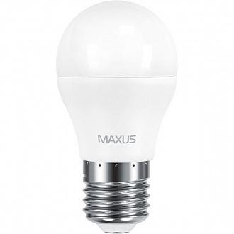 Лампа Maxus LED G45 F 6 Вт E27 4100 K холодне світло (NL30514871)