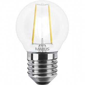 Лампа світлодіодна Maxus LED G45 FM 4 Вт 4100 До 220 В E27 filament 1-LED-546-01 (NL30502413)