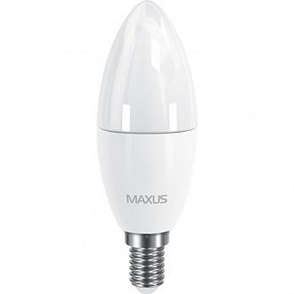 Лампа Maxus LED C37 CL-F 6 Вт E14 3000 K тепле світло (NL30514866)