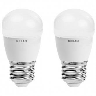 Лампа LED Osram Star 4 Вт E27 холодний світ 2 шт (NL30514842)