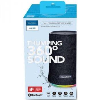 Портативна акустика Anker SoundCore Flare Plus Black (A3162Z11)