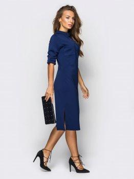 Плаття Dressa 13804 Синє