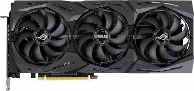 Asus PCI-Ex GeForce RTX 2080 Super ROG Strix Gaming ОС 8GB GDDR6 (256bit) (1650/15500) (USB Type-C, HDMI, DisplayPort) (ROG-STRIX-RTX2080S-O8G-GAMING)