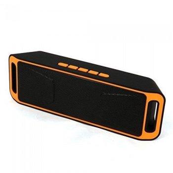 Портативна bluetooth MP3 колонка NEWstyle SPS SC-208 BT Помаранчева