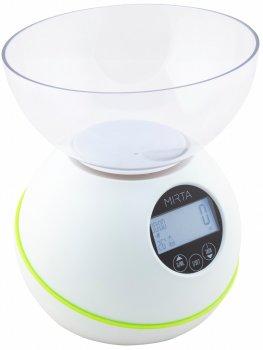 Весы кухонные Mirta 5в1 SK-3000 + часы, будильник, термометр