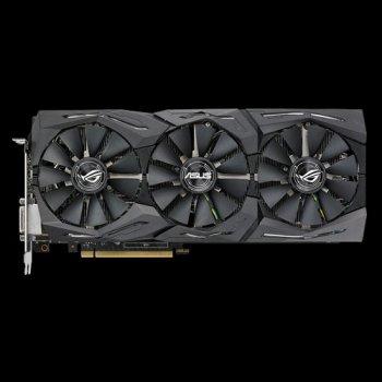 Asus PCI-Ex GeForce GTX 1080 Ti ROG Strix 11GB GDDR5X (352bit) (1480/11010) (DVI, 2 x HDMI, 2 x DisplayPort) (ROG-STRIX-GTX1080TI-11G) Refurbished