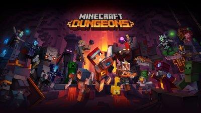 Игра Minecraft Dungeons (Ключ активации Microsoft)