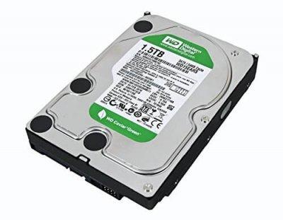 HDD WD WD 1.5 TB 7.2 K 3.5 INCH SATA (WD15EVDS) Refurbished