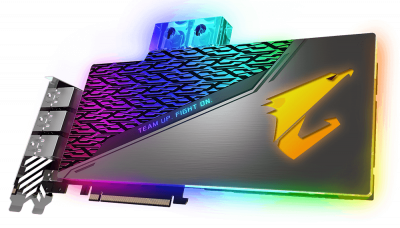 Gigabyte PCI-Ex GeForce RTX 2080 Aorus Xtreme Waterforce WB 8G 8GB GDDR6 (256bit) (1890/14140) (Type-C, 3 x HDMI, 3 x Display Port) (GV-N2080AORUSX WB-8GC)