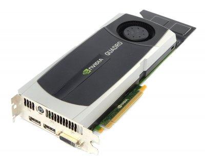 Відеокарта HP HP NVIDIA QUADRO 6000 6.0 GB GRAPHICS CARD (717701-001) Refurbished