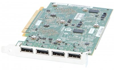 Видеокарта HP NVIDIA PCA QUADRO NVS450 512MB PCI-E HF (689470-001) Refurbished