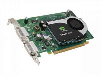 Відеокарта Fujitsu Siemens FSC Grafikkarte Quadro FX 570 256MB 2x DVI PCI-E - (S26361-D1653-V57) Refurbished