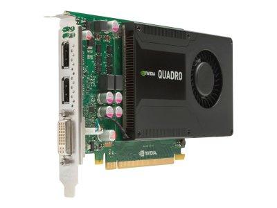 Видеокарта HP NVIDIA Quadro K2000 - Grafikkarte - PCI-Express 2.048 MB GDDR (C2J93AA) Refurbished