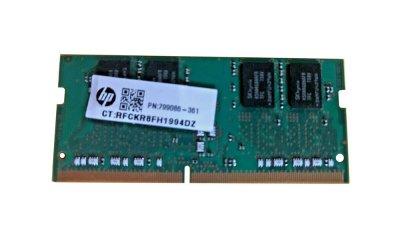 Оперативная память HP HP 4GB (1*4GB) PC4-17000S DDR4-2133MHZ SODIMM (799086-361) Refurbished