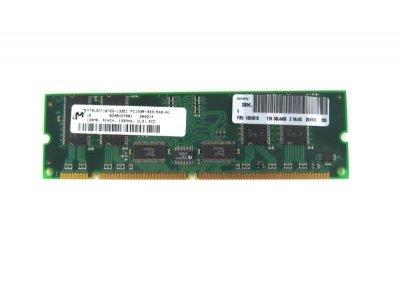 Оперативна пам'ять IBM IBM 33L3123 ECC 133Mhz PC Reg Memory 128MB (33L3124) Refurbished