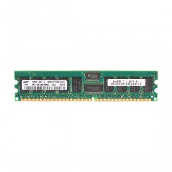 Оперативна пам'ять Sun SUN Microsystems 512MB (1*512MB) PC3200R ECC MEMORY KIT (M312L6420EG0-CCC) Refurbished