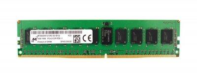 Оперативная память Micron MICRON 4GB (1X4GB) 1RX8 PC4-17000P-R DDR4-2133MHZ RDIMM (MTA9ASF51272PZ-2G1) Refurbished
