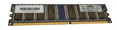 Оперативна пам'ять HP HP 512MB 333MHZ DDR PC3200 NON-ECC MEMORY DIMM (326668-885) Refurbished