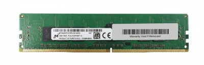 Оперативная память Micron MICRON 4GB (1X4GB) 1RX8 PC4-17000P-R DDR4-2133MHZ RDIMM (MTA9ASF51272PZ-2G1A2) Refurbished