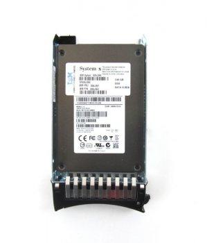 """SSD IBM IBM 240GB 6Gbps 2.5"""" SATA SSD MLC Enterprise Value (00AJ364) Refurbished"""