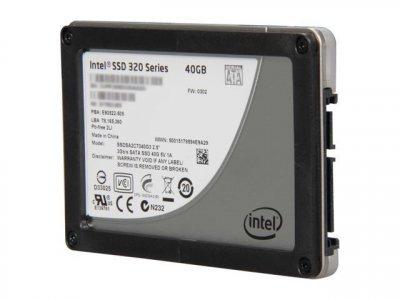 SSD HP HPE DRV SSD 40GB 2.5 3G SATA MLC (659573-001) Refurbished