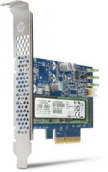 SSD HP HP PCIe SSD Z Turbo Drive Pro Quad 2x 512GB NVMe M. 2 - (N2M99AA) Refurbished