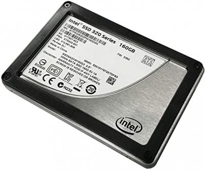 SSD Intel INTEL 320SERIES 160GB 3G 2.5 INCH MLC SATA SSD (SSDSA2CW160G3) Refurbished