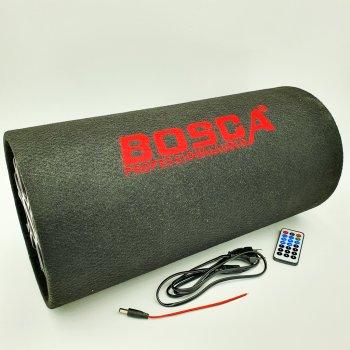 """Колонка беспроводная Сабвуфер 8"""" Bluetooth FM 12В и 220В 800W BOSCA черная"""