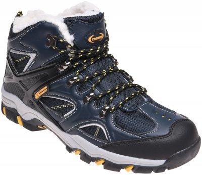 Ботинки Crosby 498591/01-01 Темно-синие с желтым