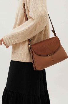 Жіноча сумка Parfois 183045-CA Коричнева (5606428917750)
