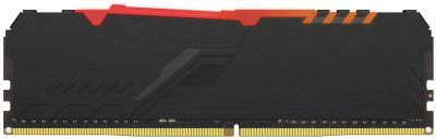 Оперативная память HyperX DDR4-3200 16384MB PC4-25600 Fury RGB Black (HX432C16FB3A/16)