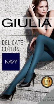 Колготки Giulia Delicate Cotton 150 Den Navy
