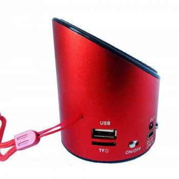Портативна Bluetooth Колонка Wester WS-Q10 Red (2_001482)