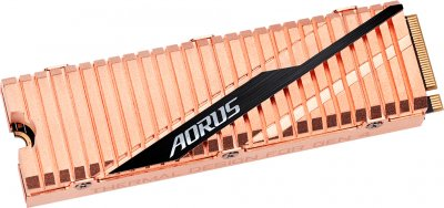 Gigabyte Aorus NVMe Gen4 SSD 2TB M.2 2280 NVMe PCIe 4.0 x4 3D NAND TLC (GP-ASM2NE6200TTTD)