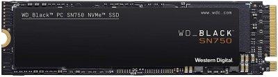 SSD накопичувач WD SSD 250GB Black SN750 M. 2 (22580) PCI Express 3.0 TLC (WDS250G3X0C)