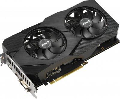 Asus PCI-Ex GeForce GTX 1660 Dual EVO 6GB GDDR5 (192bit) (1500/8002) (1 x DisplayPort, 1 x HDMI, 1 x DVI) (DUAL-GTX1660-6G-EVO)