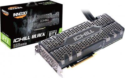 INNO3D PCI-Ex GeForce RTX 2080 Super iChill Black 8GB GDDR6 (256bit) (1845/15500) (HDMI, 3 x DisplayPort) (C208SB-08D6X-11800004)