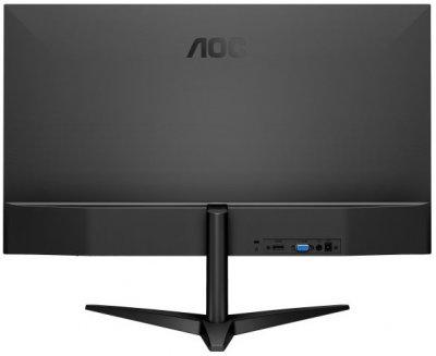"""Монітор AOC 23.6"""" 24B1H MVA Black; 1920x1080, 250 кд/м2, 5 мс, D-Sub, HDMI"""