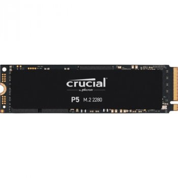 SSD 2TB Crucial P5 M. 2 2280 NVMe PCIe 3.0 x4 TLC 3D NAND (CT2000P5SSD8)