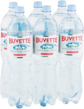Упаковка минеральной негазированной воды Buvette Vital 1.5 л х 6 бутылок (4820115400467_1)