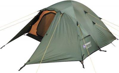 Палатка Terra Incognita Baltora Alu 4 Тёмно-зелёная (4823081505525)