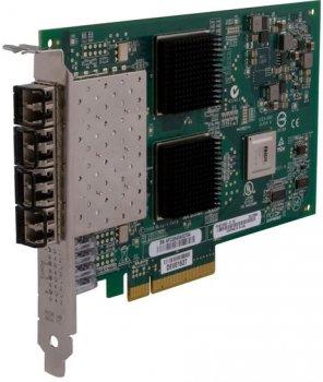 Контролер QLogic QLOGIC 8GB QUAD PORT FIBRE PCI-E (QLE2564-CK) Refurbished