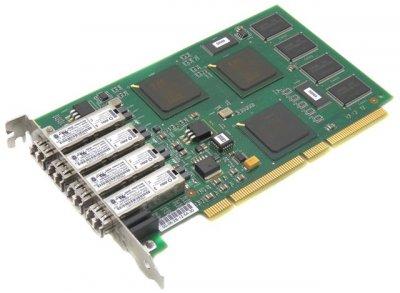 Контролер LSI 4 PORT 2GB FIBRE HOST HBA (LSI7004G2-LC) Refurbished