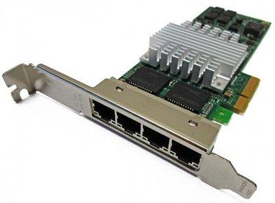 Контролер IBM INTEL I340-T4 QUAD PORT ETHERNET ADAPTER - HIGH PROF BRKT (I340-T4-HP) Refurbished