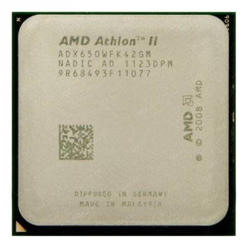 Процессор AMD Athlon II X4 650 3,2GHz AM3 Б/У