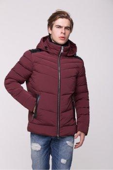 Куртка CLASNA CW17MD112CK бордового цвета